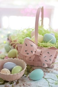 Building the Perfect Basket with Easter Candy from Wockenfuss
